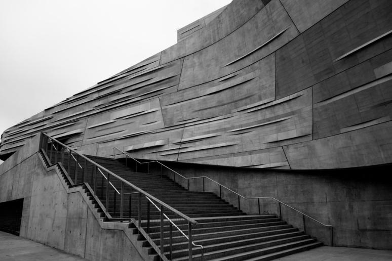 Stairway, Perot Museum