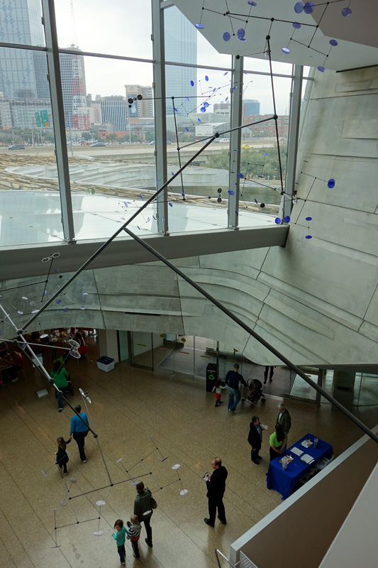 Lobby view, Perot Museum