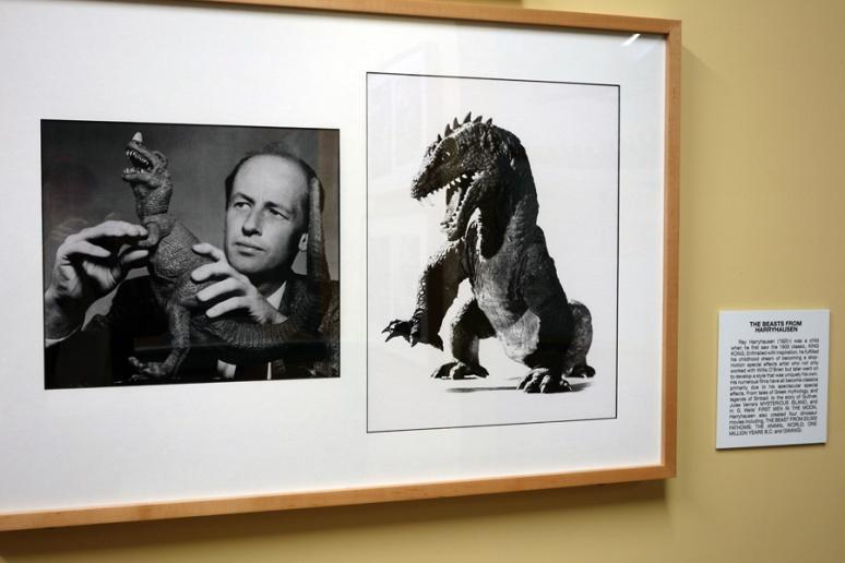 Stop-motion animator extraordinaire, Ray Harryhousen