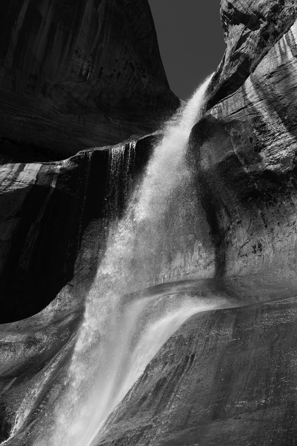 Ejecta, Lower Calf Creek Falls