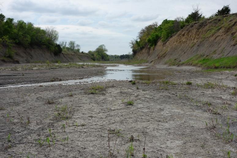 Alluvium and shale