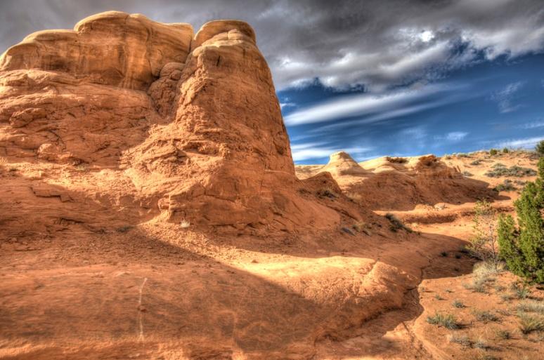 Sandstone and sky