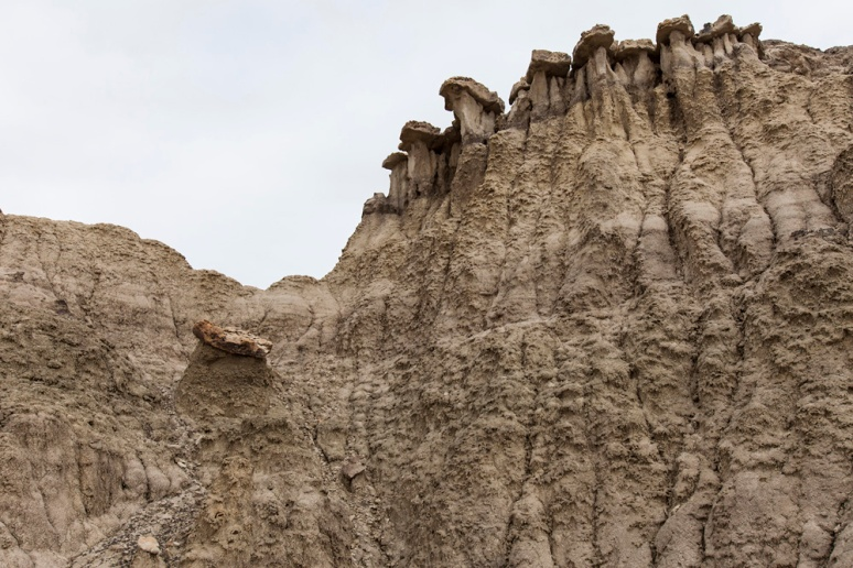 Battlements in the empire of dirt