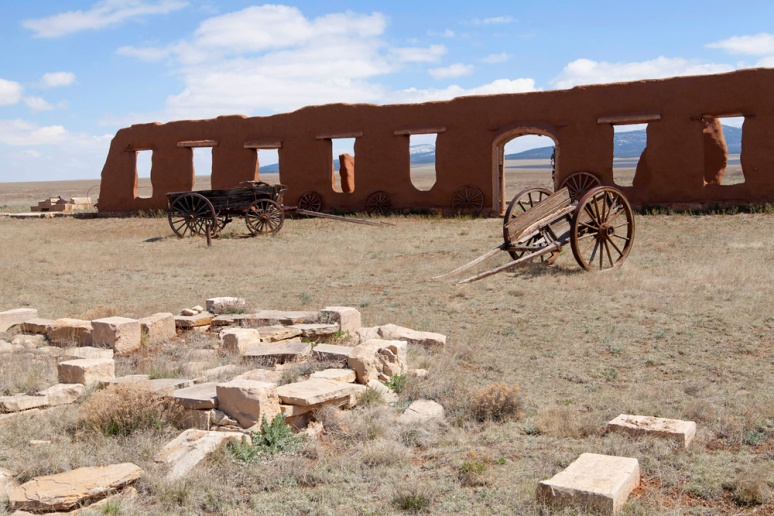 Astride the Santa Fe Trail