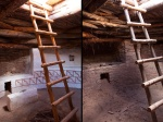 Kivas: restored vs. unrestored